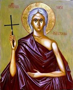 Преподобна Марія Єгипетська