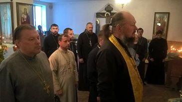 Відбулася сповідь духовенства та зустріч з правоохоронцями
