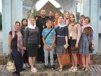Відпочинок у Карпатах православної молоді села Івачків
