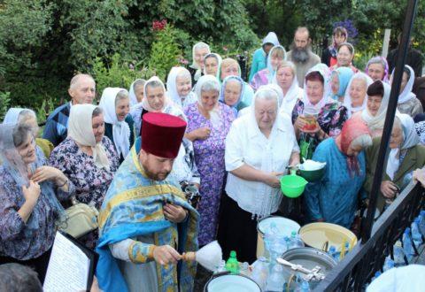 Престольне свято у Свято-Казанському храмі