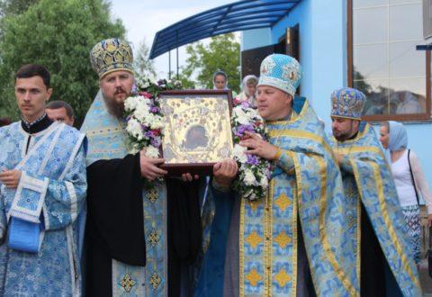 Касперівська чудотворна ікона в Здолбунові