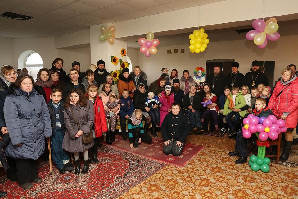 У Здолбунові відбулася дружня зустріч з особливими дітьми.