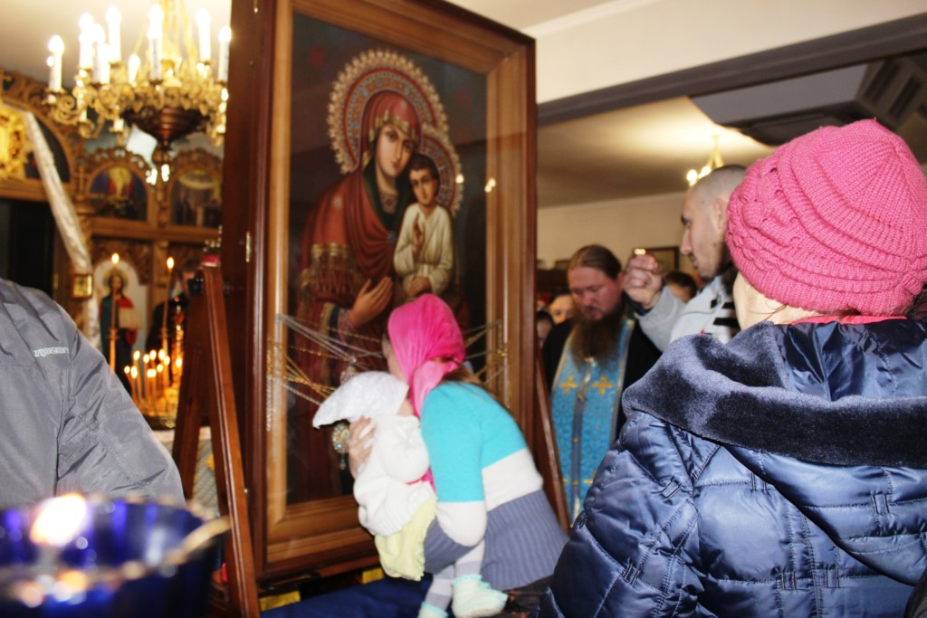 Перебування Святогірської ікони Божої Матері у Здолбунові